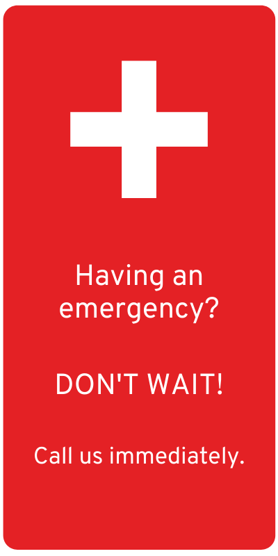 Having an emergency?